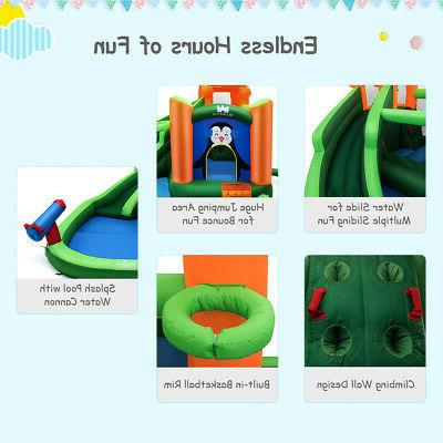 Inflatable Water Bouncer Climbing