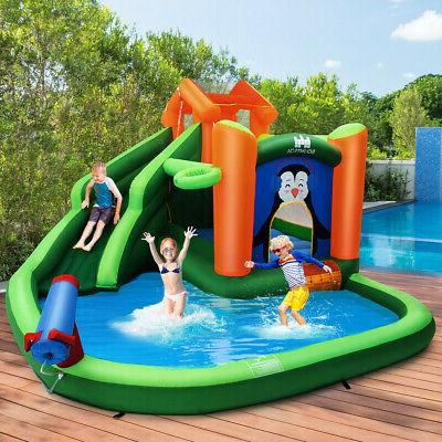 Inflatable Park Slide Splash Water Cannon