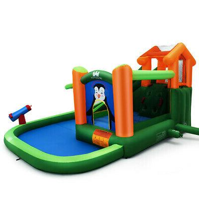 Inflatable Water Park Slide Bouncer