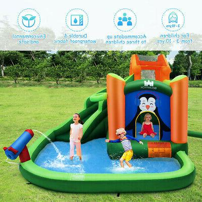 Inflatable Slide Bouncer Splash Pool Water
