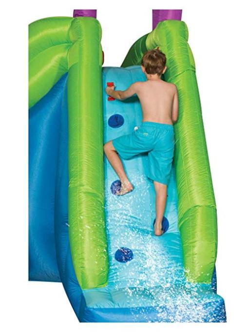 Inflatable 2 Slides Hoop NEW
