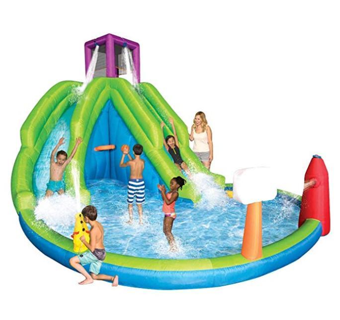 Inflatable 2 Hoop kids