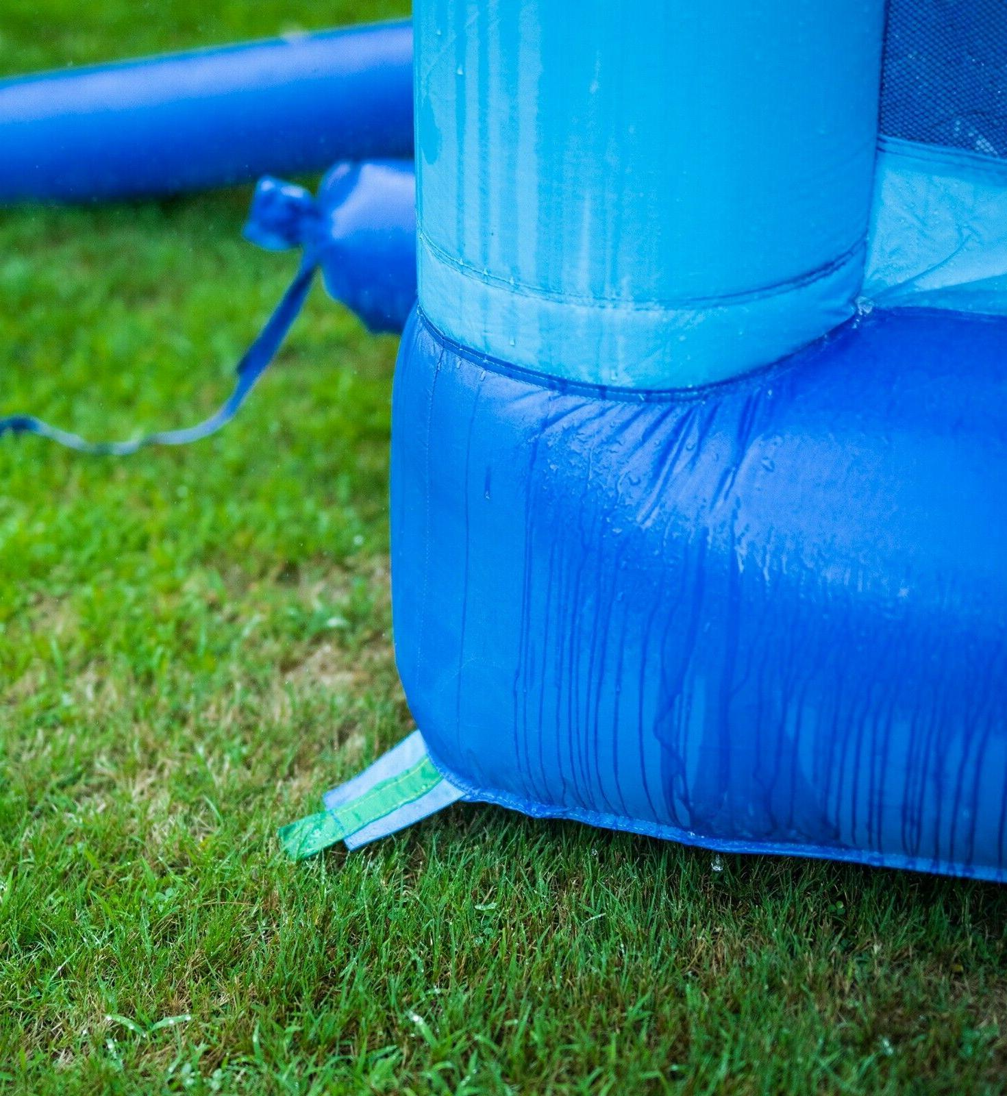 Inflatable Slide Bounce House and Kids
