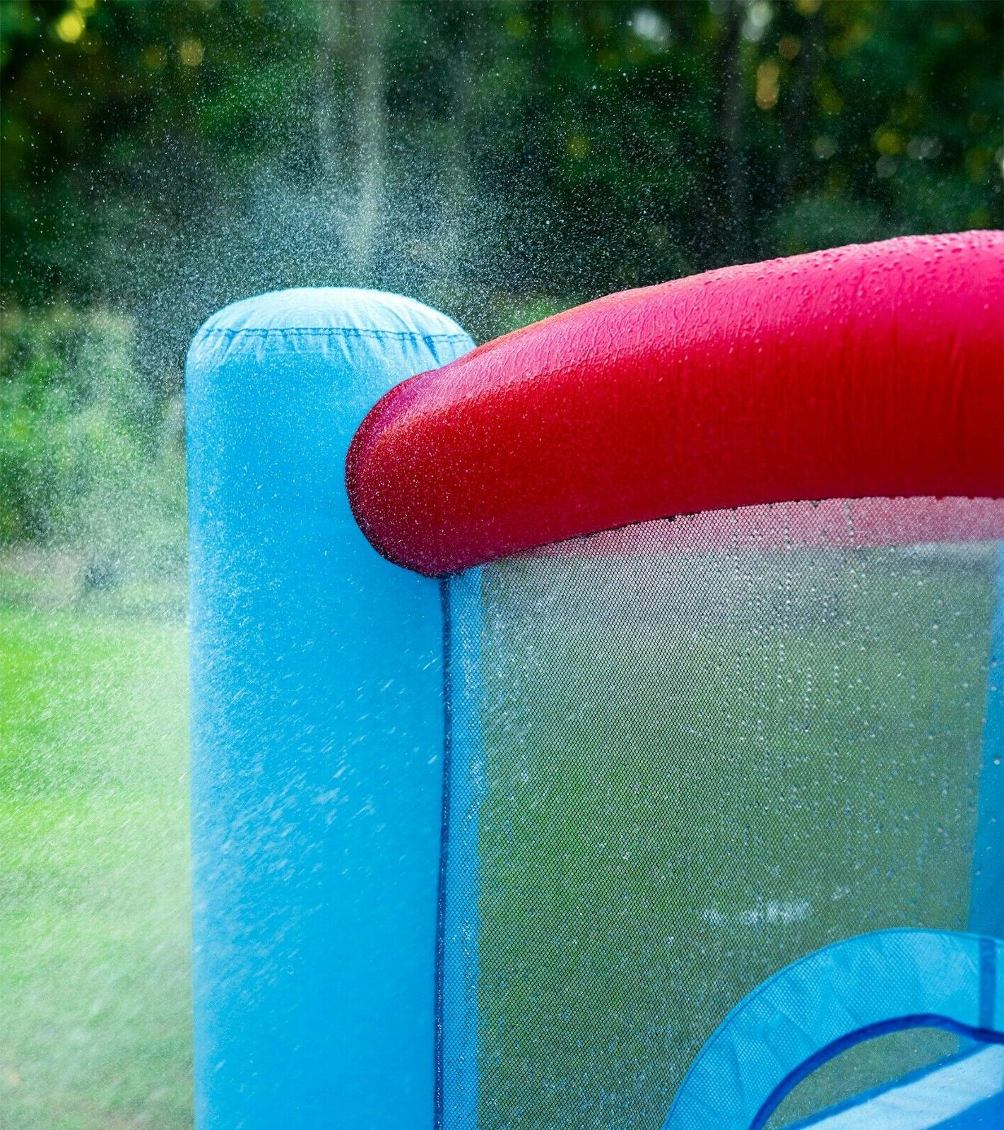 Inflatable Bounce with Blower and Splash Kids