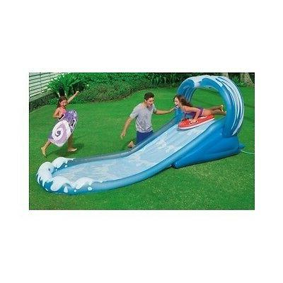 Inflatable Water Backyard Play Center Outdoor Toddler Toy