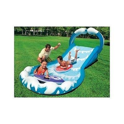 inflatable water slide backyard play center outdoor