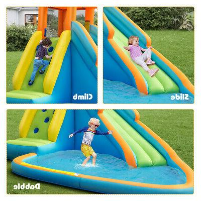 Inflatable Water Slide Bounce House Water Without Blower
