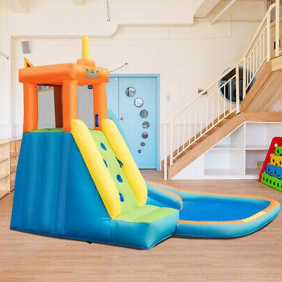 Inflatable Bounce House Castle Water Without Blower