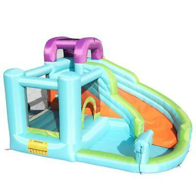 Inflatable Bouncy Castle Play Room w/ Safe