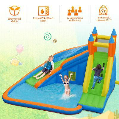 Inflatable Slide Bounce House Jumper Moonwalk Blower