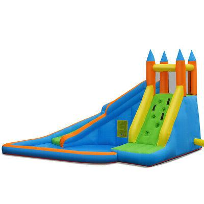 Inflatable Water Bounce House Moonwalk Blower