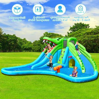 Inflatable Water Slide Park Climbing Pool