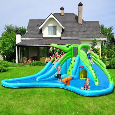 Bounce House Climbing & Splash Pool