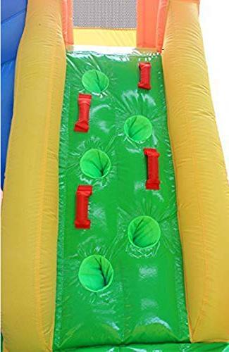 RETRO JUMP Inflatable Bouncer, Slide Climber House Waterslide for with