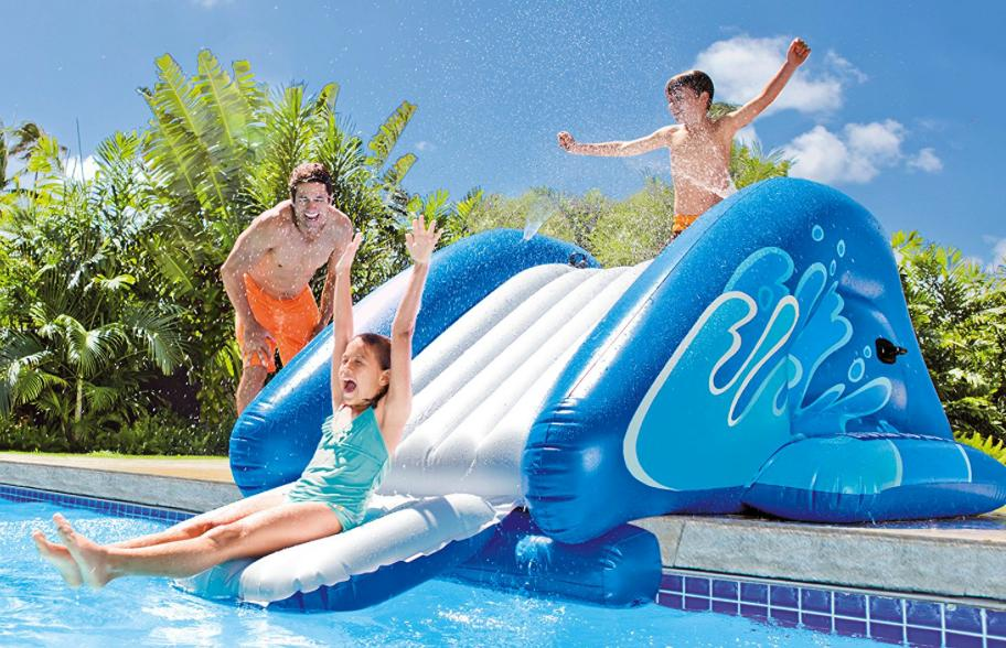 Giant Kids Water Slide Outdoor Fun Games