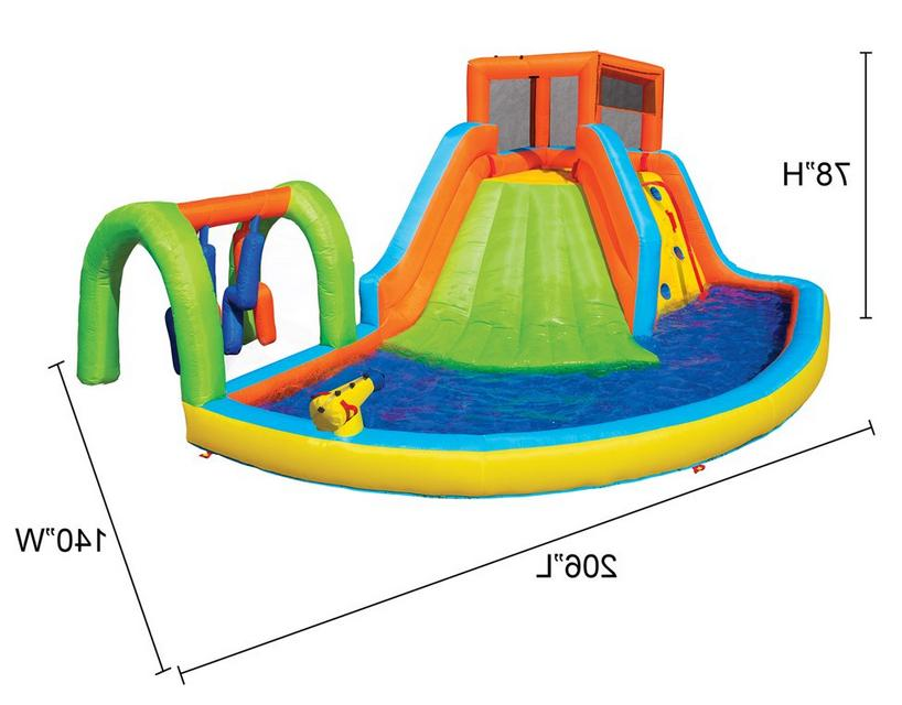 Inflatable Water Summit Splash Adventure Park