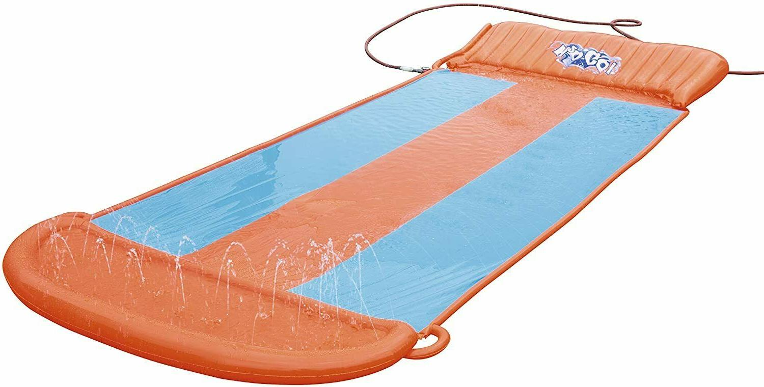 Inflatable Slide Pool Park Backyard Play Fun Splash