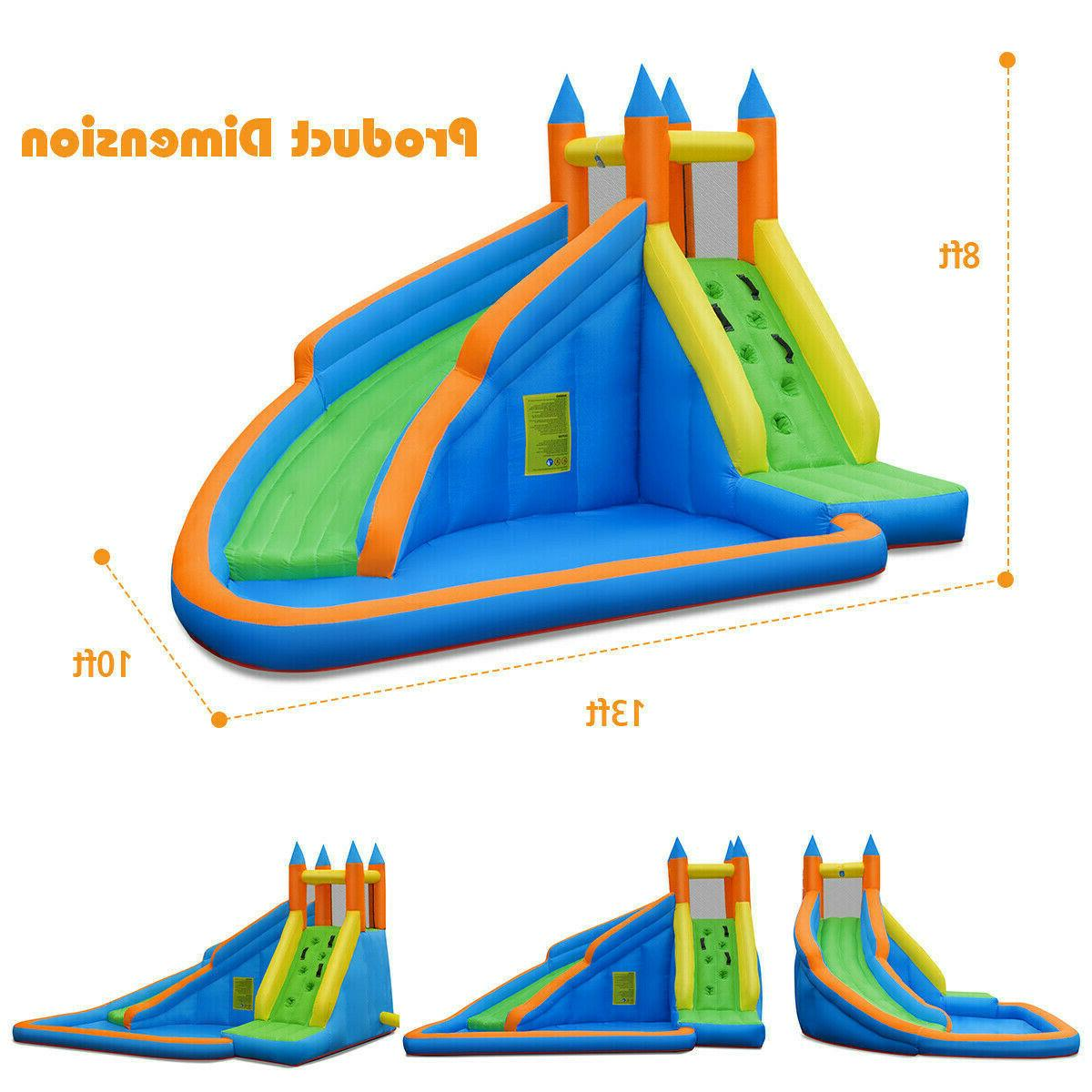 Inflatable Water Slide Pool Park Play Outdoor