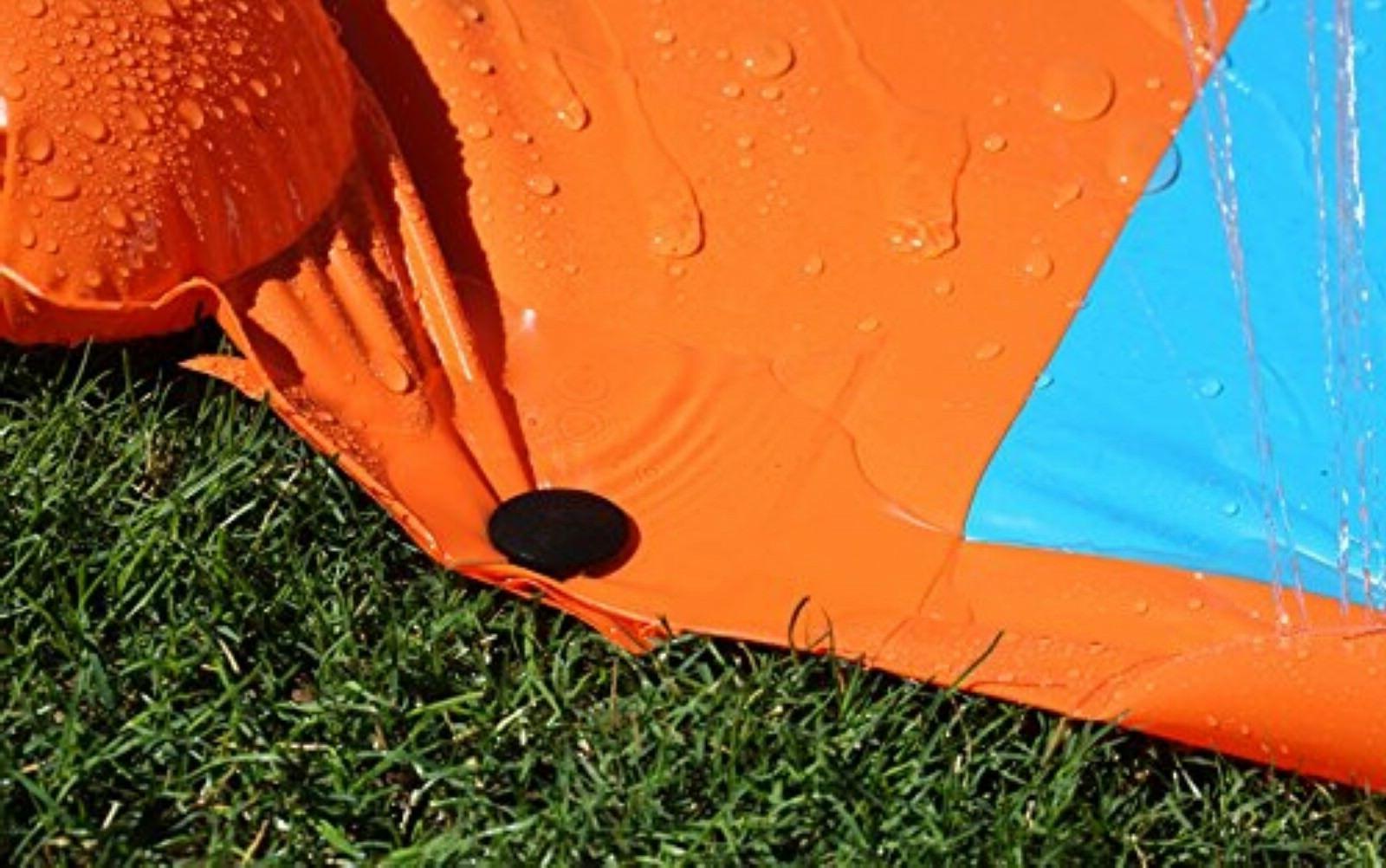 Inflatable Slide Splash Backyard Kids Outdoor Spit