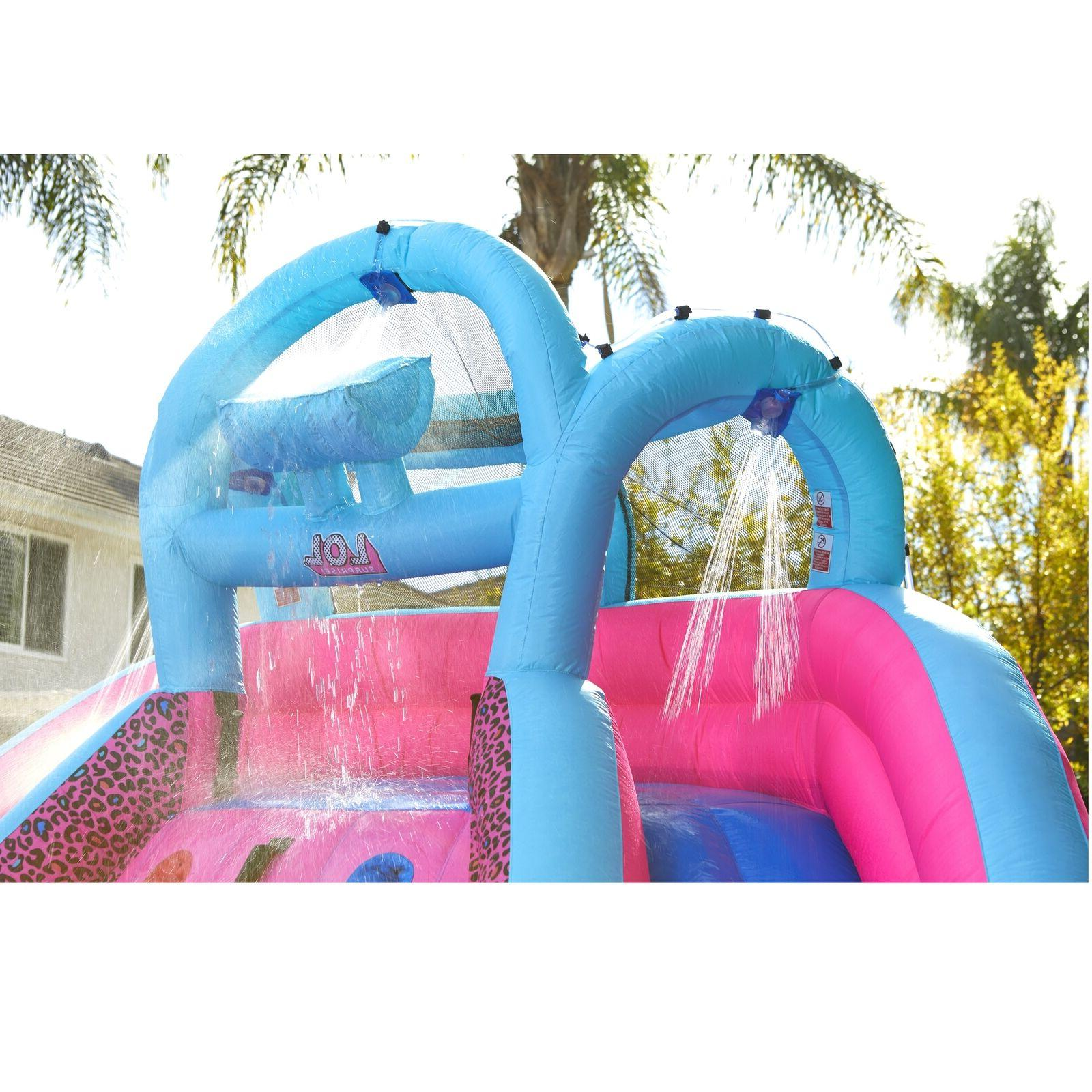 Inflatable / Climbing Wall Combo Slide Blower