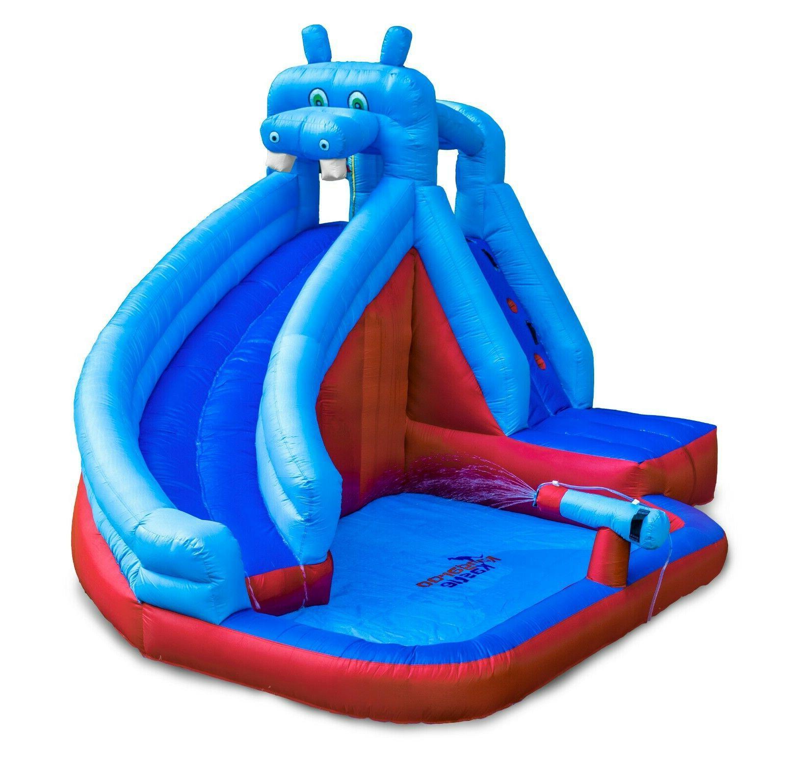 Inflatable Blower for Water Gun Splash Pool