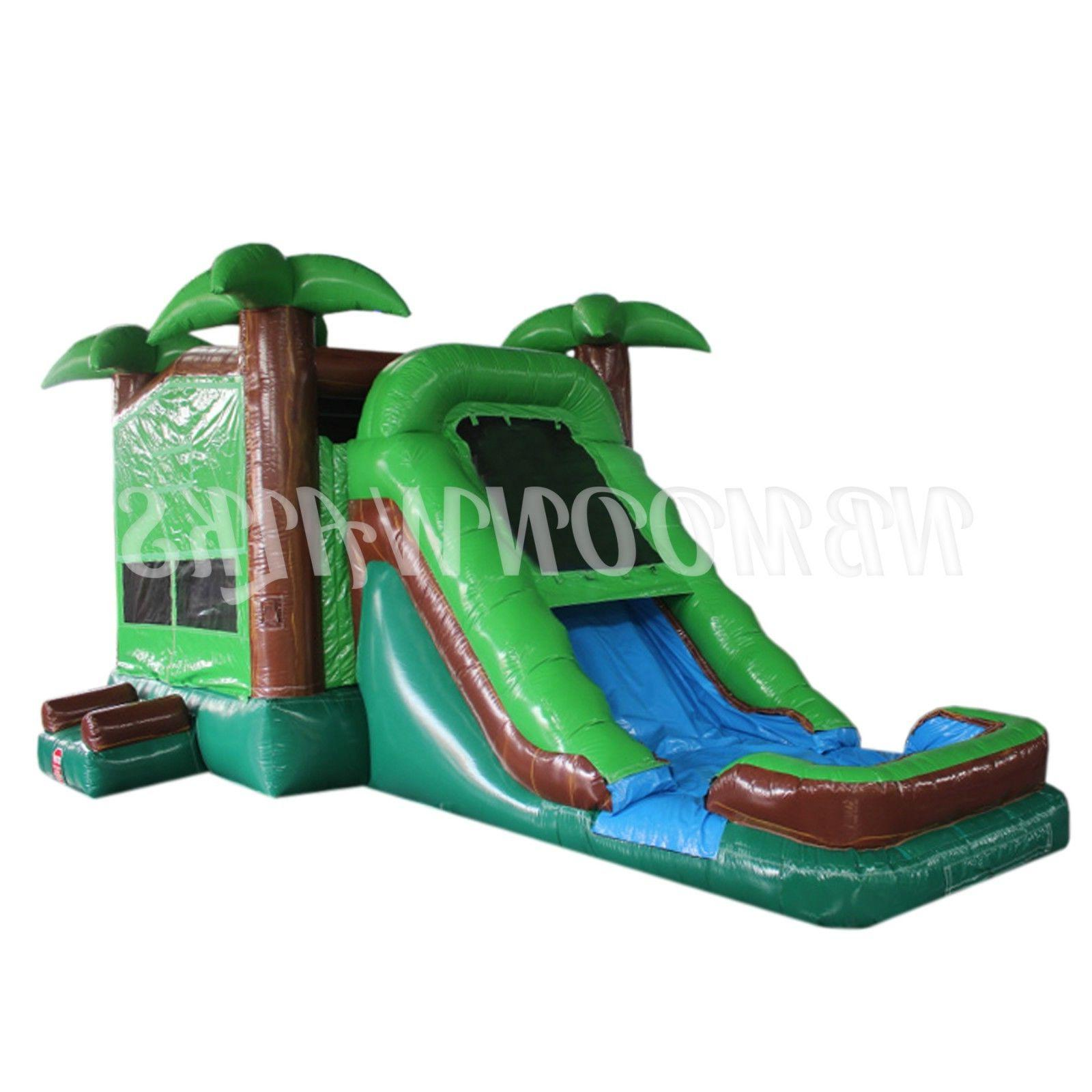 inflatable water slides commercial pool jumping house
