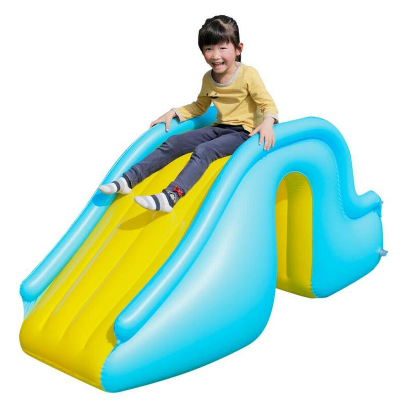 Inflatable Water Slides Kids Backyard U