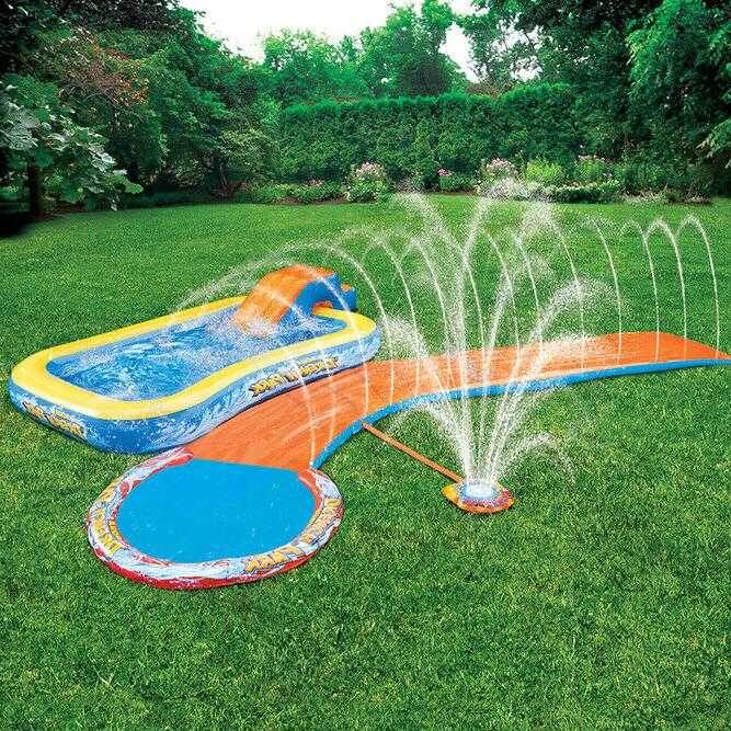 Inflatable Park 3-in-1 Backyard Inflatable Swimming Pool