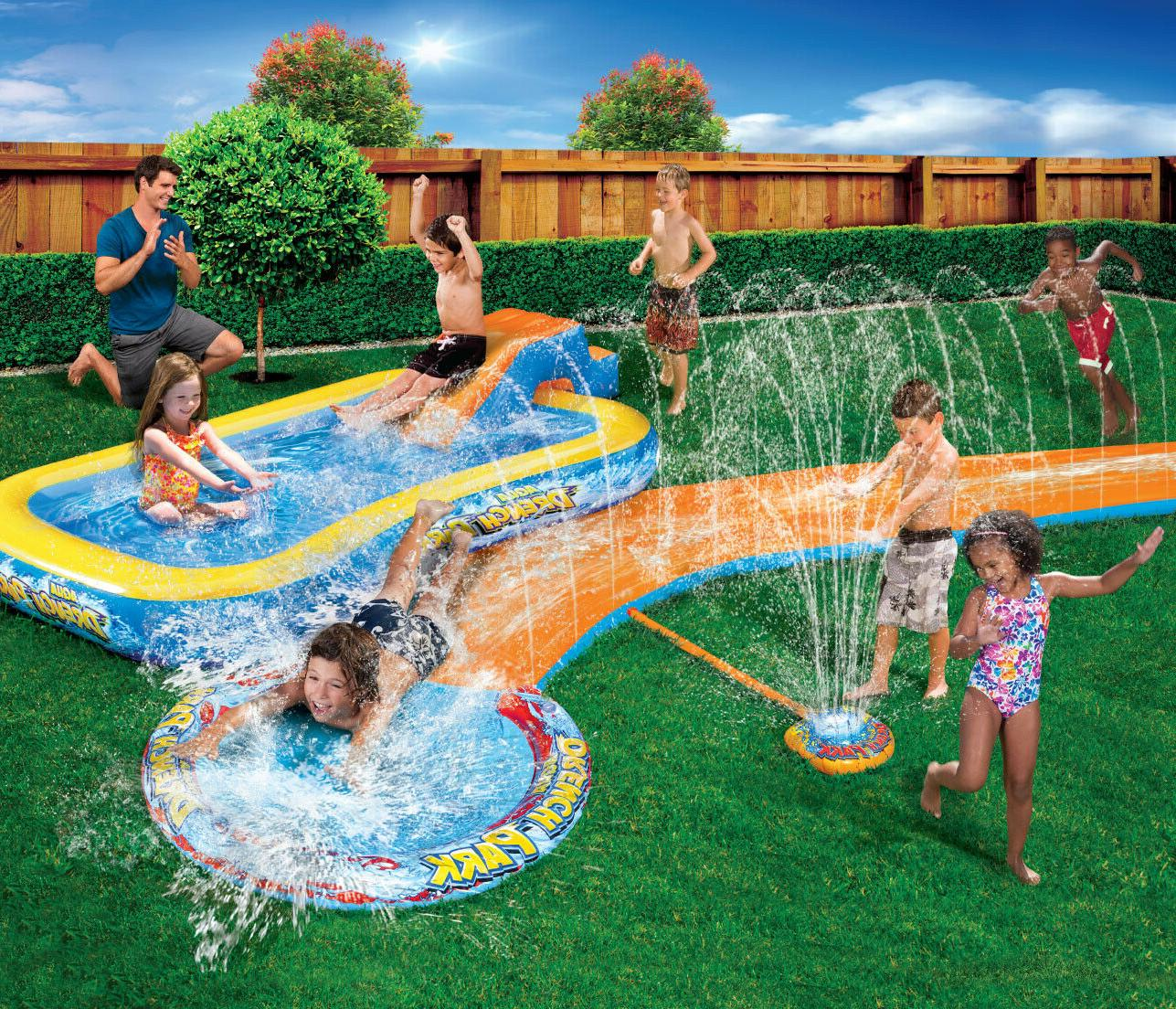 Inflatable Water Park Backyard Swimming