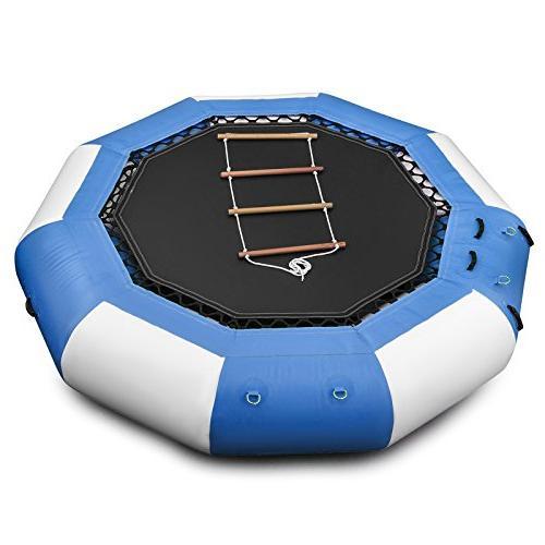 Popsport Inflatable Series Splash Bouncer Bouncer Water Trampoline Platform for Sports