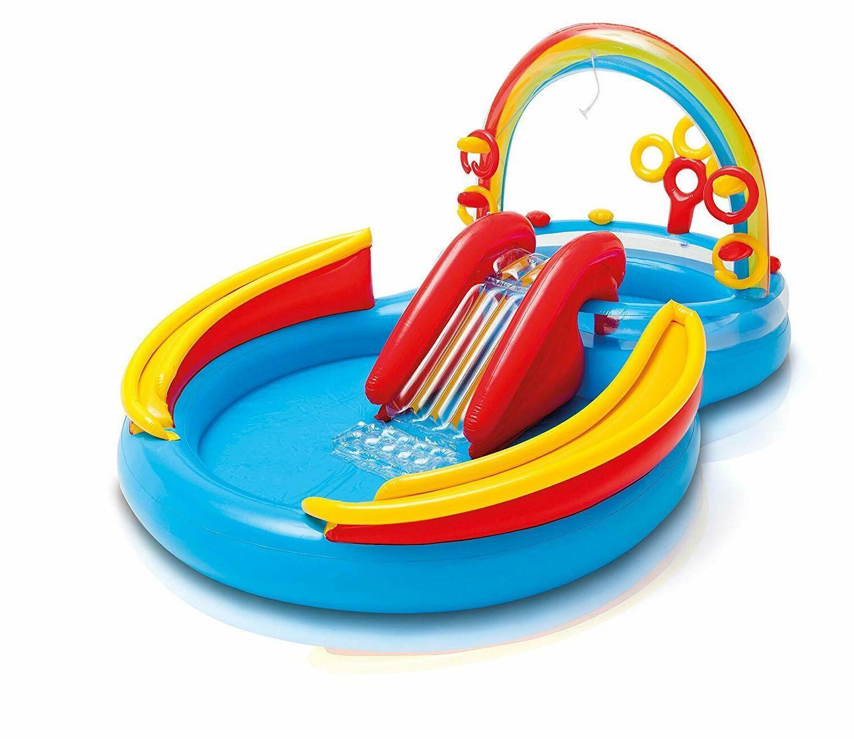 Outdoor Summer Pool Slide Play Park