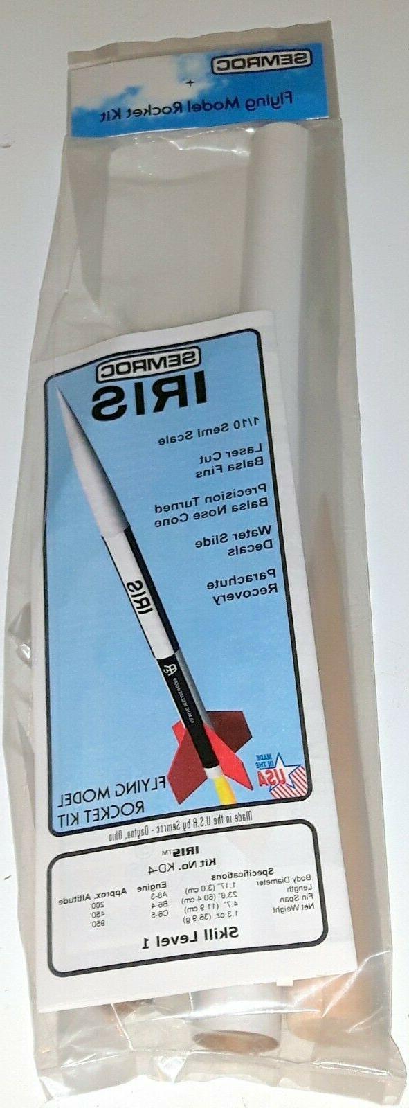 SEMROC Flying Rocket Kit KD-4 - Skill Level 1