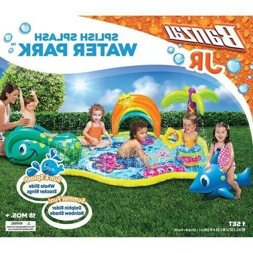 jr splish splash water park play pool