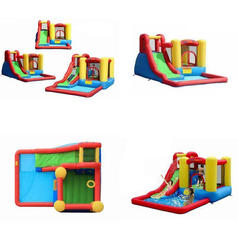 jump and splash adventure bounce house bouncer