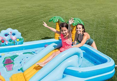 Intex Adventure Center Inflatable Wading