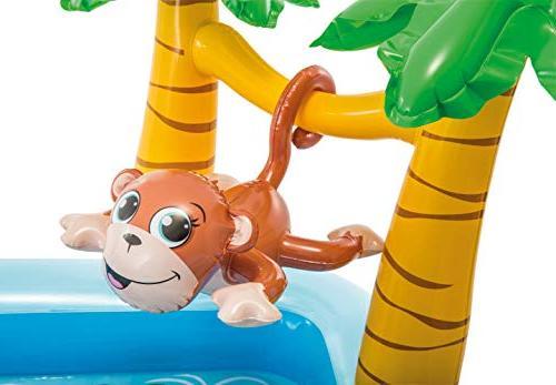 Intex Jungle Adventure Center Inflatable Wading Pool