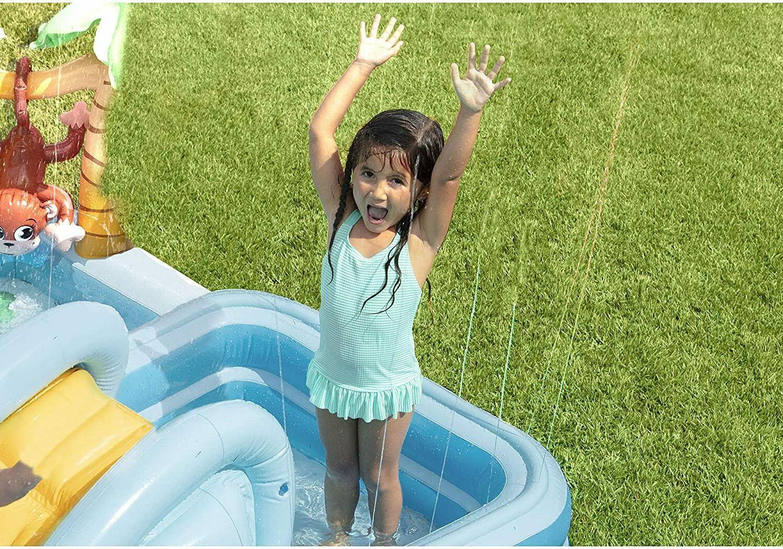 Intex Jungle Adventure Play Center Toys Water Slide HAND