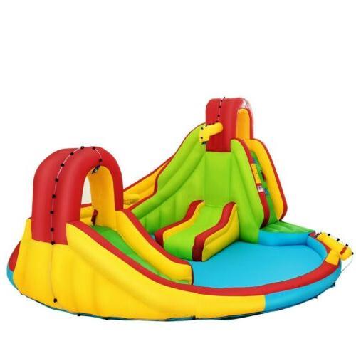 Kids Swim Play Center Splash Pool Waterslide
