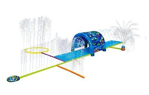 kids inflatable sprinkler park big portable kiddie blow abov