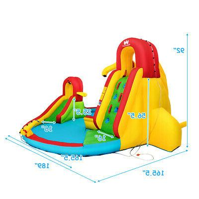 Kids Inflatable Slide Pool House Fun