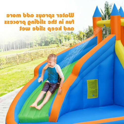 Inflatable Water House Castle Slide