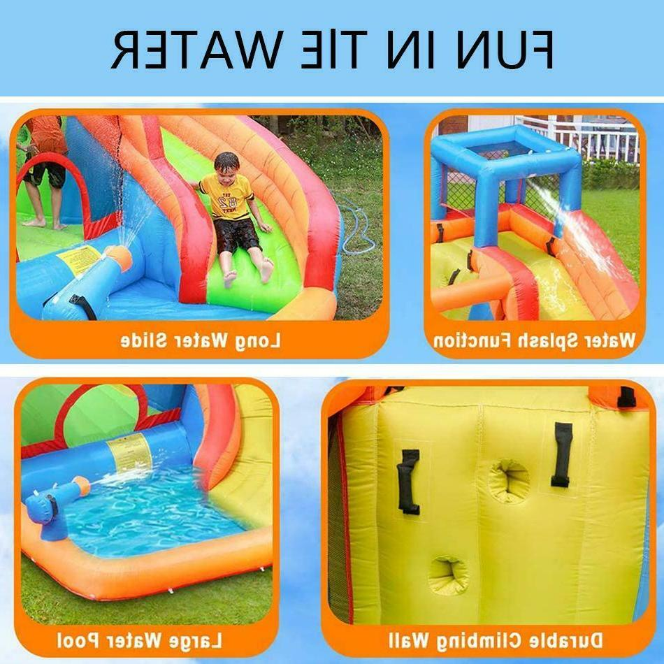 Kids Outdoor Inflatable Water Slide Jumping