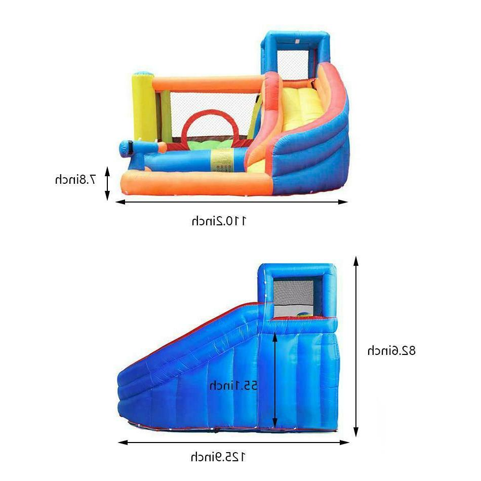 Kids Inflatable Slide Castle Air
