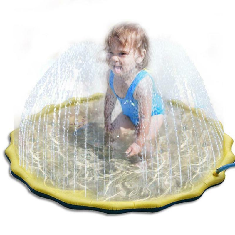 Kids Outdoor Spray Toy Garden Fun Mat