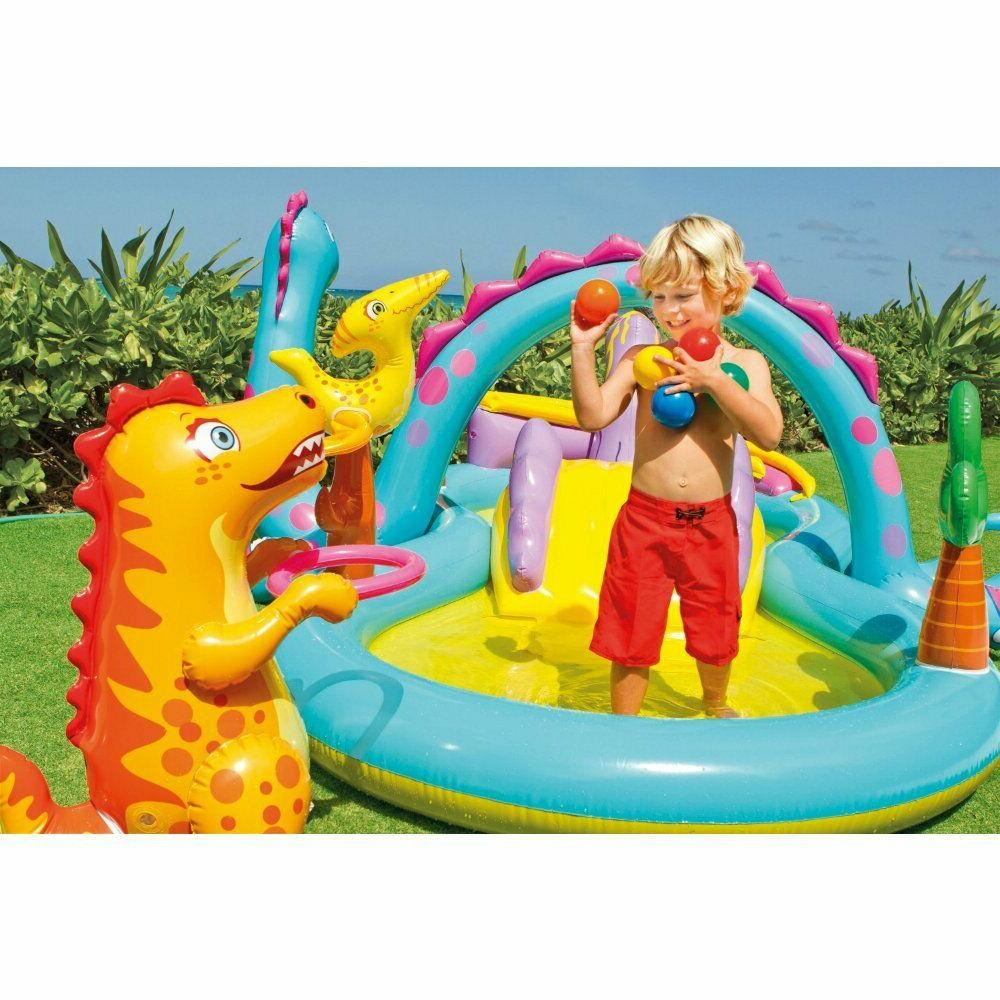 Swimming Pool Water Slide Inflatable Kids Center Water Play