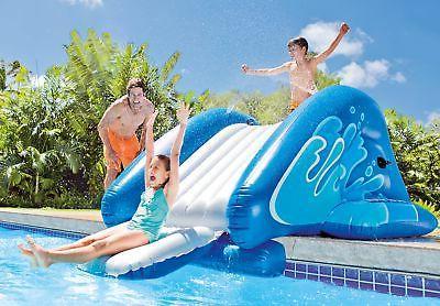 Intex Kool Splash Inflatable Play Pool Water Slide