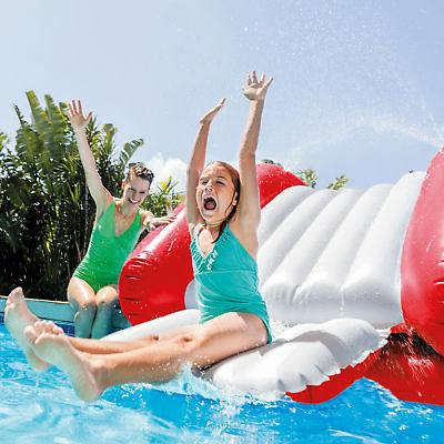 Intex Inflatable Pool Slide Center with Sprayer,