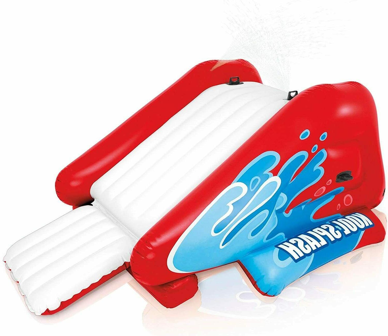 Intex Kool Splash Inflatable Pool Water Slide Play Center wi