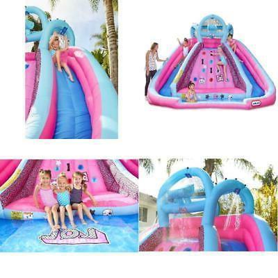 l o l surprise water slide w