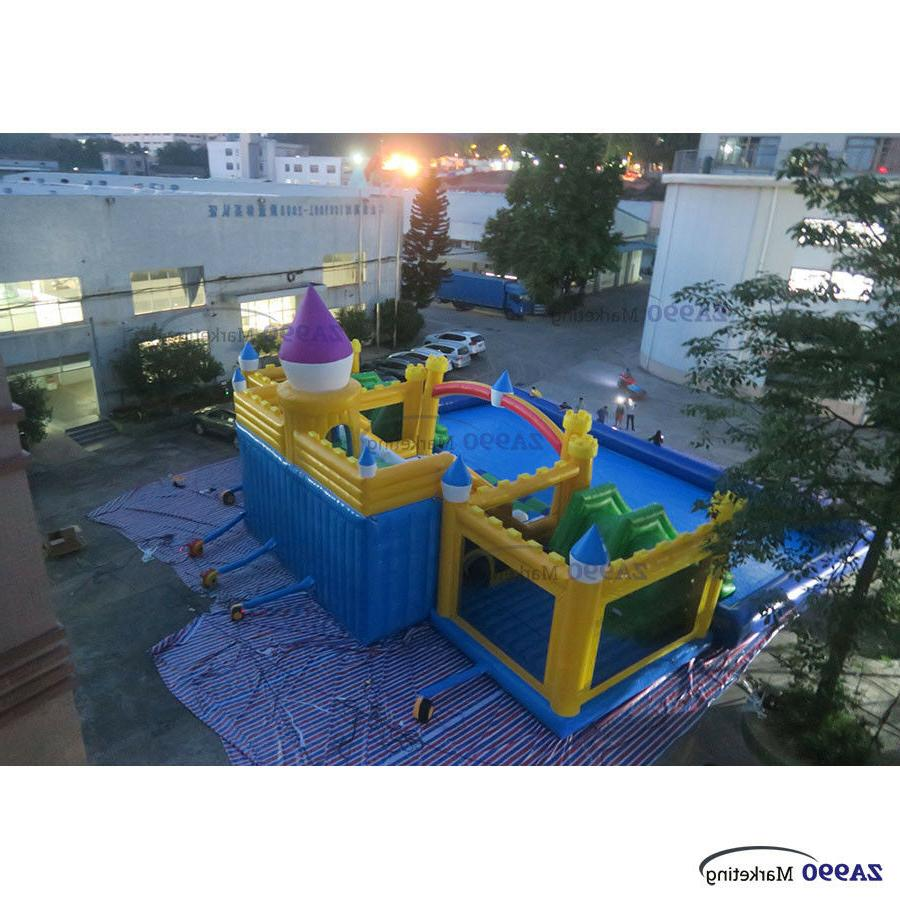 Water Aqua Bounce With Slides Pool